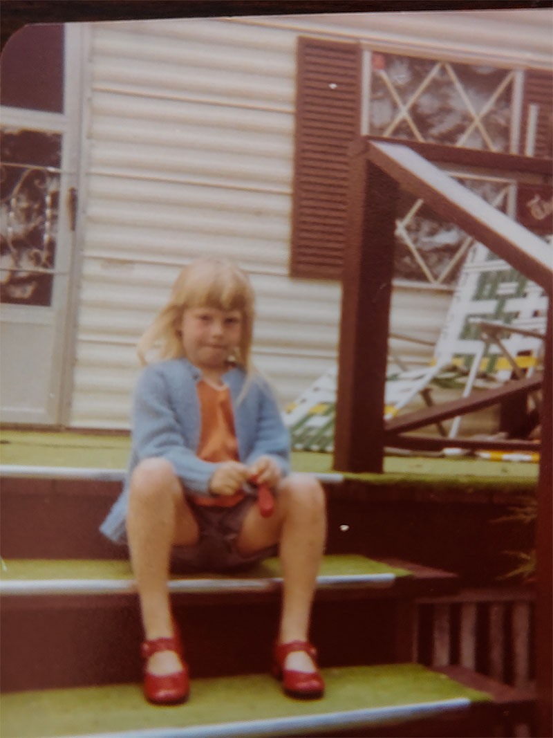Vivian Cumins Childhood Red Shoes
