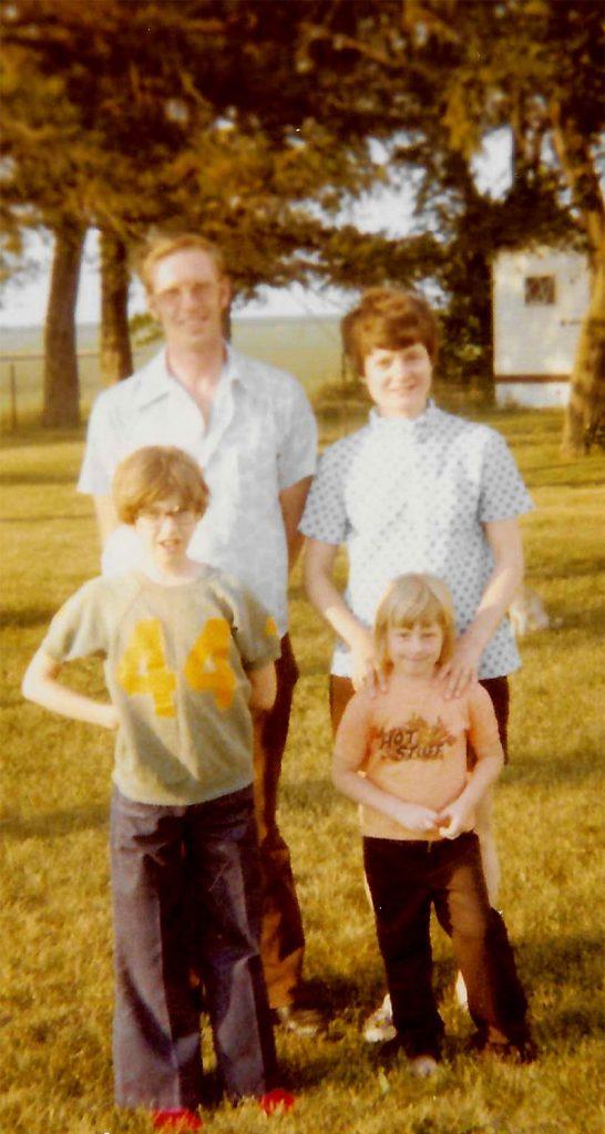 Made it to Grandma's House (Family Vacay, Iowa, 1977)