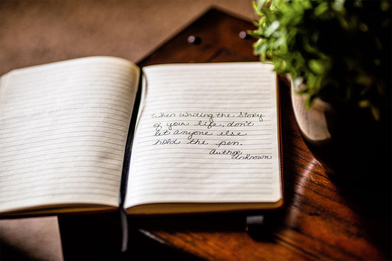 MemoryBlogger Journal (Open, Writing)