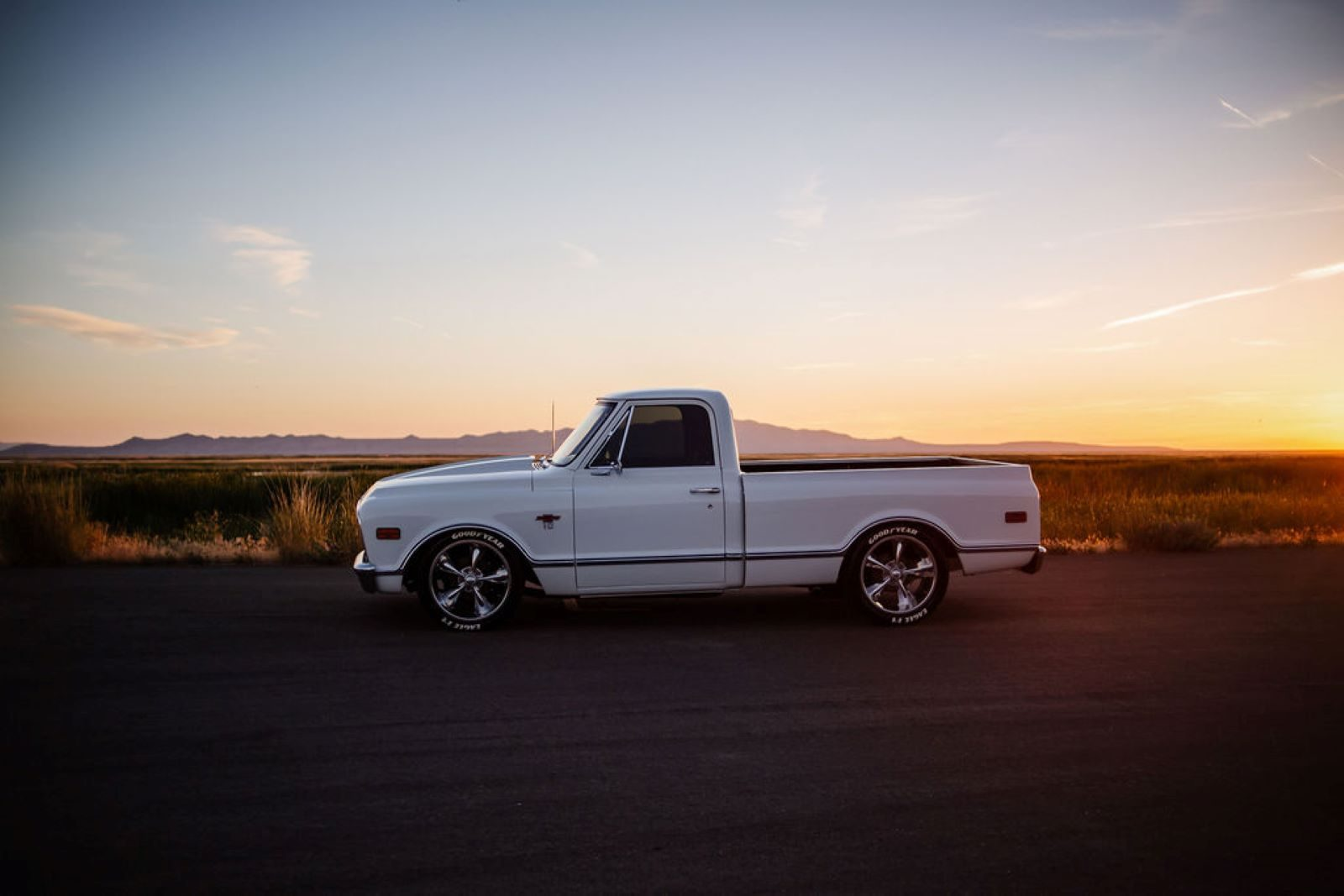 Marilyn the pickup truck
