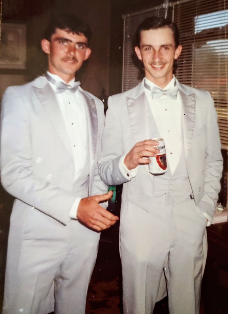 Best Man and Groom, October 1991